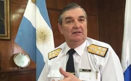 Tư lệnh Hải quân Argentina mất chức vì vụ mất tích tàu ngầm