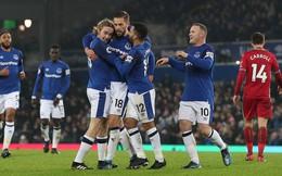Đặt dấu giày trong 3 bàn thắng của Everton, Rooney lại khiến cả Premier League kinh ngạc