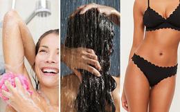 Bạn thường tắm chỗ nào đầu tiên trên cơ thể, điều đó sẽ nói lên tính cách của bạn