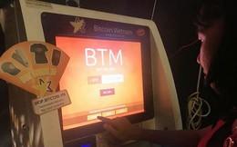 Cận cảnh giao dịch bitcoin bằng máy ATM