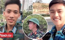 Ai nói sinh viên trường Quân đội không đẹp là chưa gặp 3 chàng lính cực kỳ điển trai này rồi!