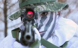Thủy quân lục chiến Mỹ-Hàn hăng say tập luyện dù trời lạnh âm 20 độ