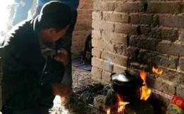 Du khách thản nhiên nhóm lửa nấu ăn tại Vạn Lý Trường Thành