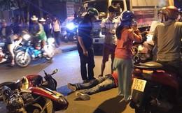 Ô tô gây tai nạn thản nhiên bỏ chạy để mặc người đàn ông bất tỉnh