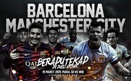 Barcelona hay Man City mạnh nhất? Hãy chờ họ gặp nhau ở Champions League!