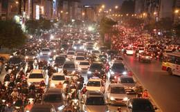 Hà Nội: Tắc đường nghiêm trọng do người dân đi chơi Giáng sinh tăng đột biến