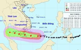 Phó Tổng Giám đốc TT KTTVQG: Bão số 16 duy trì cường độ giật cấp 15 hướng về Côn Đảo