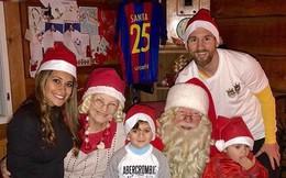 Messi và Ronaldo đón Giáng sinh ấm áp bên gia đình sau El Clasico