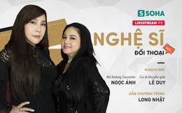 20h30 tối nay, Livestream với Nữ hoàng nhạc Rock Ngọc Ánh và ca sĩ chuyển giới Lê Duy