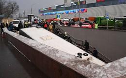Xe bus đâm vào người đi bộ ở Moscow, 5 người chết