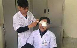 Thái Bình: Đang cấp cứu, bác sĩ bị người nhà bệnh nhân đánh gãy mũi