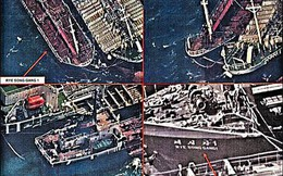 """Tàu Trung Quốc """"bán dầu trái phép"""" cho Triều Tiên"""