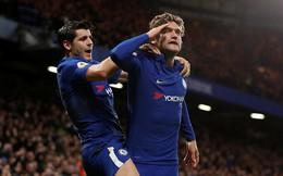"""Bộ tứ """"đấu sỹ"""" tỏa sáng, Chelsea phả hơi thở nóng gáy Man United"""