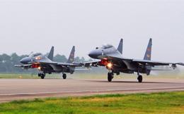 Không quân Trung Quốc tập trận 16 lần gần Đài Loan