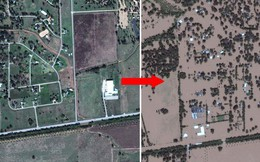 Nhìn ảnh vệ tinh chụp trước/sau 5 thảm họa khủng khiếp này mới thấy thiên nhiên đáng sợ đến nhường nào