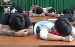 TP.HCM: Nhiều thanh niên nghi 'phê' ma tuý trong quán karaoke
