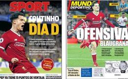NÓNG!!! Nike 'vô tình' rò rỉ thông tin Coutinho gia nhập Barca từ Liverpool
