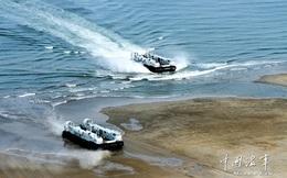 Trung Quốc chế tạo hàng loạt tàu đổ bộ đệm khí