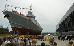 [ẢNH] Nga hạ thủy tàu tên lửa đầu tiên lớp Karakurt