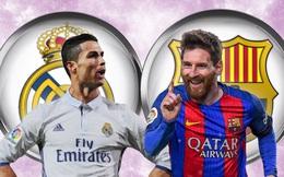 TRỰC TIẾP Siêu kinh điển: Real Madrid vs Barcelona (01h45)