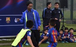 Ronaldinho xuất hiện tại Trung Quốc với sứ mệnh đặc biệt