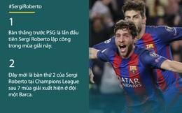 """Con số biết nói: Chiến binh """"tắc kè hoa"""" & cú chạm bóng thay đổi lịch sử Barca"""