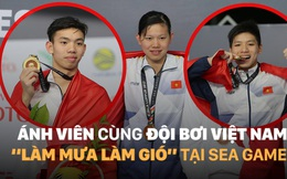 """Ánh Viên cùng ĐT bơi Việt Nam """"làm mưa làm gió"""" tại SEA Games 29"""
