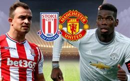 Stoke 2-2 Man United: Quỷ đỏ lần đầu vấp ngã