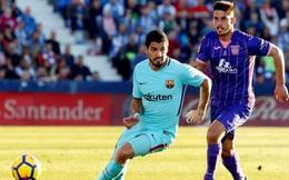 """""""Sát thủ"""" tỉnh giấc, Barcelona đại thắng, bỏ cách Real 11 điểm"""