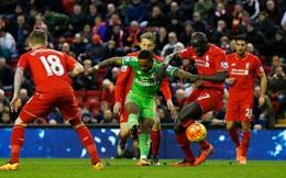 Clip bản quyền Premier League: Sunderland 2-2 Liverpool