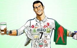 """Không chỉ giỏi đá bóng, Ronaldo còn là """"gương mặt thương hiệu"""" cực kỳ đẳng cấp"""