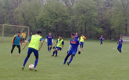 Chơi tưng bừng, U20 Việt Nam thắng đội bóng Hà Lan 4 bàn trắng