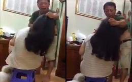 Sự thật phía sau đoạn clip bố túm tóc đánh con gái ở Hà Nội
