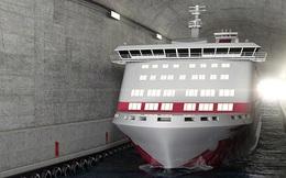 Na Uy chi hơn 300 triệu USD xây đường hầm xuyên núi dành riêng cho tàu thủy