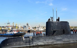 Tàu ngầm Argentina mất tích: Hải quân Mỹ phát hiện vật thể khả nghi