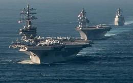 Bảy cụm tàu sân bay Mỹ trực chiến lúc Tổng thống Mỹ công du châu Á
