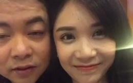 [Video] Hành động thân mật của Quang Lê và Thanh Bi khi livestream
