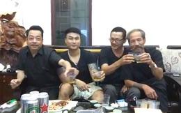 [Video] Chuyện không tưởng: Thế Chột, Phan Quân, Lương Bổng, Hoàng Mặt Sắt vui vẻ uống bia hát hò