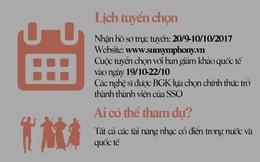 Infographic: Dàn giám khảo quốc tế chiêu mộ tài năng âm nhạc Việt về Sun Symphony Orchestra
