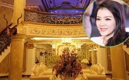 Choáng ngợp với 3 căn biệt thự dát vàng của sao Việt