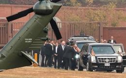 Tổng thống Mỹ hủy thăm khu phi quân sự liên Triều vì thời tiết xấu
