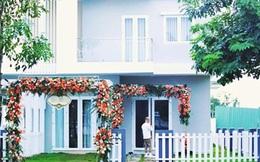 Trước khi lấy chồng đại gia, Thu Thảo đã hoàn thành tâm nguyện xây nhà to đẹp cho ba mẹ