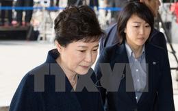 Cuộc thẩm vấn cựu Tổng thống Park Geun-hye kéo dài 14 giờ liên tục