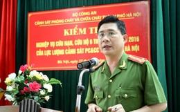 Phó Giám đốc Cảnh sát PCCC Hà Nội lý giải nghi vấn xe cứu hỏa không có nước