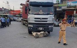 Hải Dương: Bị xe tải cuốn vào gầm, nữ trung úy công an tử vong