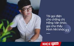 Long Nhật và cuộc điện thoại đẫm nước mắt với chồng NSND Hồng Vân