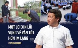 TIN TỐT LÀNH 2/10: Ông Hải, ông Thuận, ông Đại sứ: Chuyện lời xin lỗi và cách cúi đầu