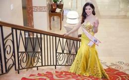 Hoa hậu Phan Hoàng Thu diện váy 12kg, giá gần nửa tỷ