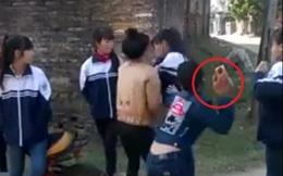 Nữ sinh dùng gạch đập vào đầu bạn ở Bắc Giang do mâu thuẫn trên facebook