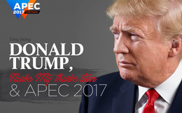 Tổng thống Donald Trump, Nước Mỹ trước tiên và APEC 2017